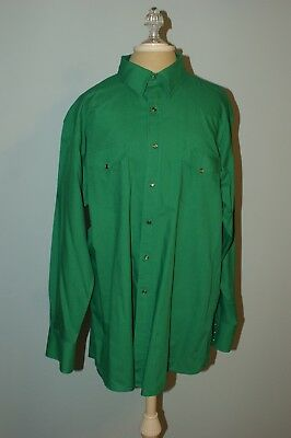 Square Dance Shirt - Men's Emerald Green By White Horse