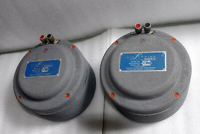 VINTAGE  PAIR JBL 375 BY AMPEX (16 ohm)