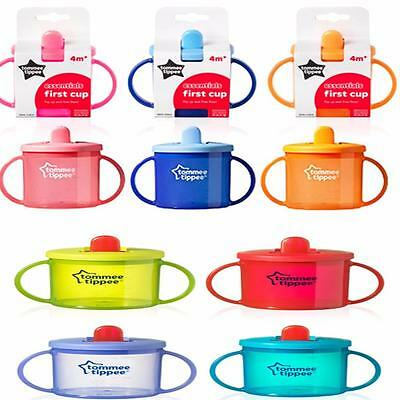 Tommee Tippee Essentials First Cup/mobility - New Colours! BPA Free 4 months+