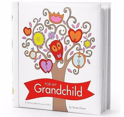For My Grandchild Memory Album/Journal by Terese Oman