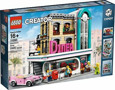 LEGO® Creator Expert 10260 Amerikanisches Diner NEW OVP_Downtown Diner MISB NRFB