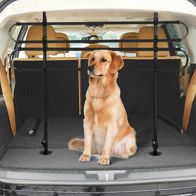 Dog Guard Vehicle Car Headrest Travel Mesh Grill Safety Universal Barrier Fence