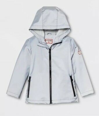Hunter For Target Toddler 4T Silver Packable Rain Coat