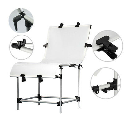 60x130cm Photo Studio Still Life Product Display Non-Reflective Shooting Table