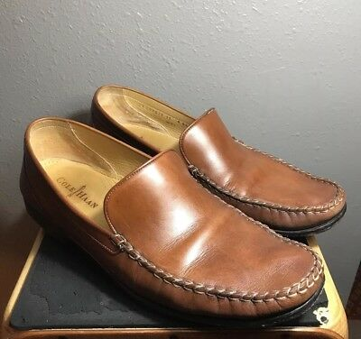 Mens Cole Haan Loafers Size 13 M slip on light brown