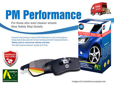 HOLDEN Combo (XC) 1.4L 2005-2010 REAR Disc Brake Pads DB1511, Check Image