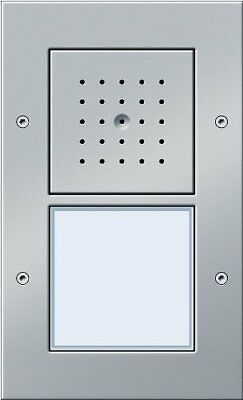 GIRA 126665 Aluminium audio intercom system - Audio Intercom Systems (110 (h0s)