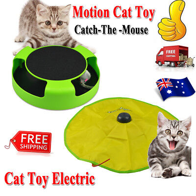Catch The Mouse Training TOY Electronic Interactive Cat's Meow Moving Mouse 2018