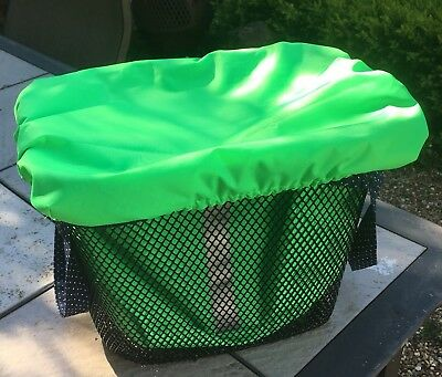 Hi Viz mobility scooter Accessory. Waterproof Front Basket, Bag And Cover