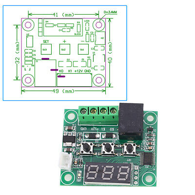 Business Temperature Controller Module Practical Part High Precision