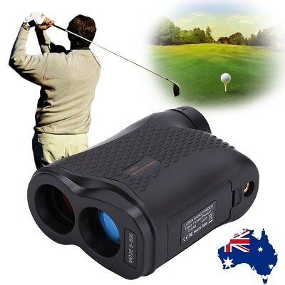 600M 6X Telescope Laser Range Finder Golf Distance Height Speed Meter Waterproof