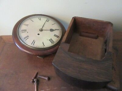 Fusee Wall Clock For Restoration