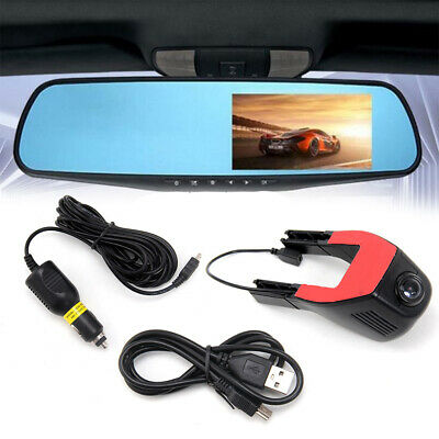 1080P FHD Vision Motion HD Hidden In Car DVR Camera Dash Cam Video Record UK