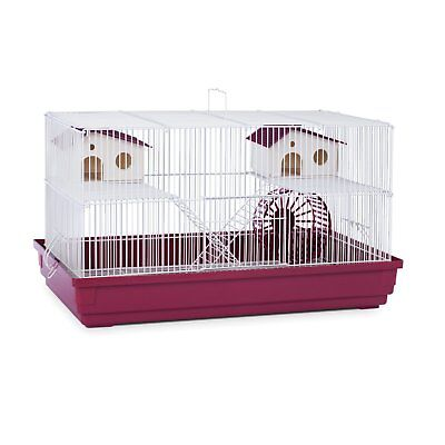 Hamster Gerbil Mouse Pet Cage  Pig Rat Home Wire Small Animal Pet House