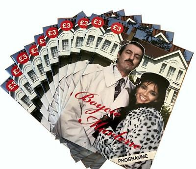 Only Fools and Horses Boycie and Marlene Official Programme