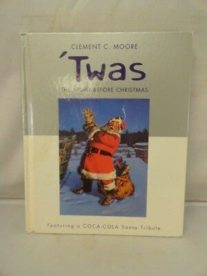 Twas the Night Before Christmas Clement C Moore Coca Cola Santa Tribute Hallmark