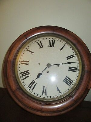 12 inch DIAL FUSEE WALL CLOCK