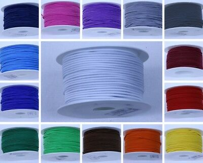2.5mm round elastic cord, 16 colours, dressmaking elastic, craft cord, tailoring