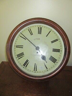 14 Inch Dial Fusee Wall Clock