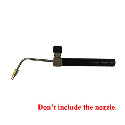 Universal Oxyhydrogen Gas Torch Flame Gun with 0.8mm Copper Nozzles for 150-300L