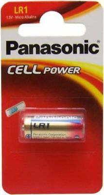 PANASONIC 1.5v SECURITY LR1 N-SIZE E90 BATTERIES
