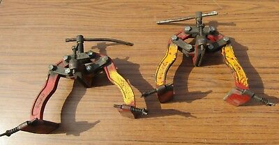 2 X PIPE WELDING CLAMP Welders Portable  E-Z 4 EZ4 PAIR OF CLAMPS 1 Price