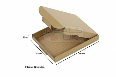 100 x ROYAL MAIL LARGE LETTER CARDBOARD BOX SHIPPING MAIL POSTAL PIP A6/C6