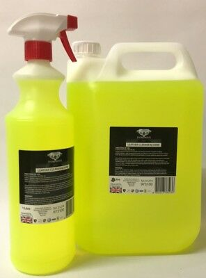LEATHER CLEANER & CONDITIONER - CAR LEATHER SEATS,SOFAS 6L vanilla scent