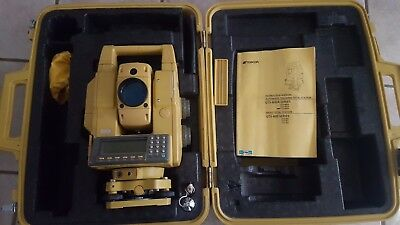 Topcon Gts-802A Autotracking Total Station With Case