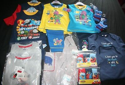 Baby Boy's 18 - 24 Months NEW Twins/Doubles Clothing Bundle (1 of 3) - FREE POST