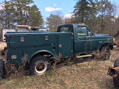 1989 ford f350 service truck