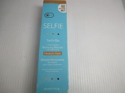 1 Selfie Tan N Go 1 Hour Express Medium Dark Mousse 7.5 Oz - Jl 4949