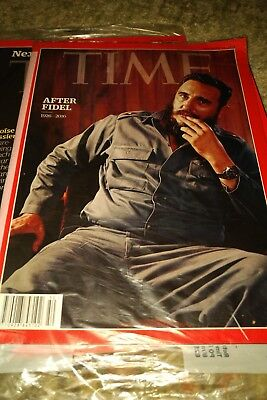 Time Magazine Fidel Castro New 2016