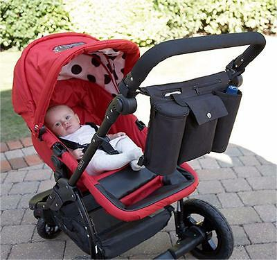 Pram Organiser by Clippasafe Suitable for All Prams and Pushchairs