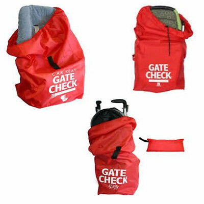 JL Childress Gate Check Bag- Umbrella Stroller-Standard and Double/ Car Seat