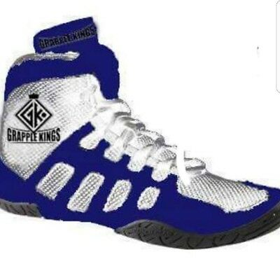 Grapple Kings Mma Wrestling Shoes Trainers Boots  Size 5