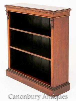 Open Front Bookcase - Antique Victorian Bookcases Circa 1880