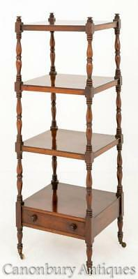 William IV Whatnot - Antique Mahogany Bookcase