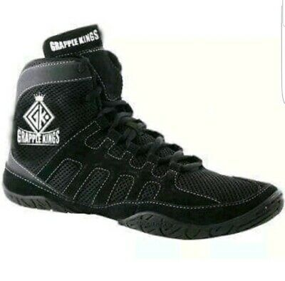 Grapple Kings Mma Wrestling Shoes Trainers Boots  Size 9