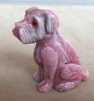 Rhodochrosite Dog- Terrier 2""