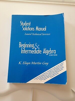 Student solutions manual intermediate accounting 7270 picclick beginning intermediate algebra 2nd ed student solutions manual martin gay fandeluxe Choice Image