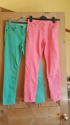 2 pairs of  Mini Boden skinny jeans in great condition. 26'' waist from 11 yrs