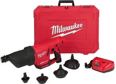 Milwaukee Drain Cleaning Machine M12 12V L-Ion Drain Plug Offset Connector Case
