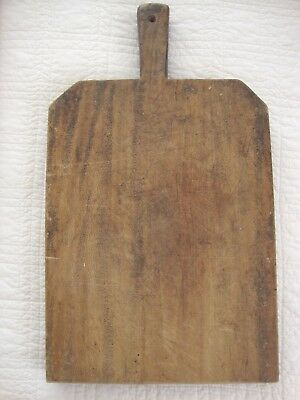 Antique Vintage Lg.FRENCH WOOD CUTTING BOARD Primitive French Chopping Board