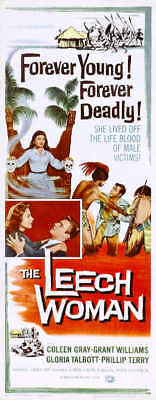 1959 RETURN OF THE FLY VINTAGE HORROR MOVIE POSTER PRINT STYLE A 24x16 9 MIL