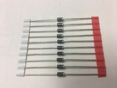 (10pcs) 1N4004 Rectifier Diode 1A 400V IN4004 - US Seller-Free&fast shipping