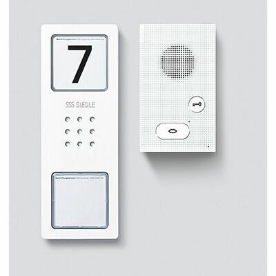 SIEDLE  CAB850-1 Sprechanlage Set Einfamilienhaus 1 WE Gegensprechanlage Audio