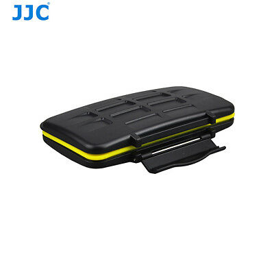 JJC Water-resistant Shockproof Memory Card Case fit 12 SD +12 Micro SD Cards