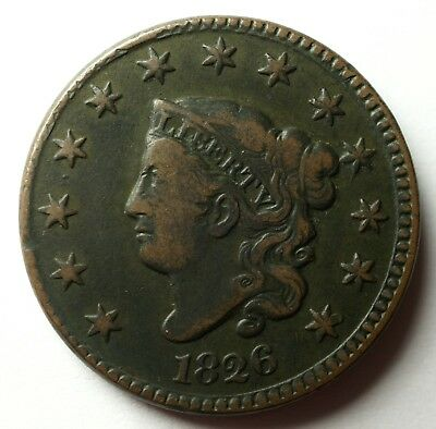 1826 Large Cent N-5