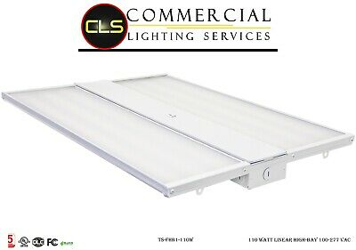 LED Dimmable Commercial High Bay Light 105 Watt 13650LM. Warehouse, Facility